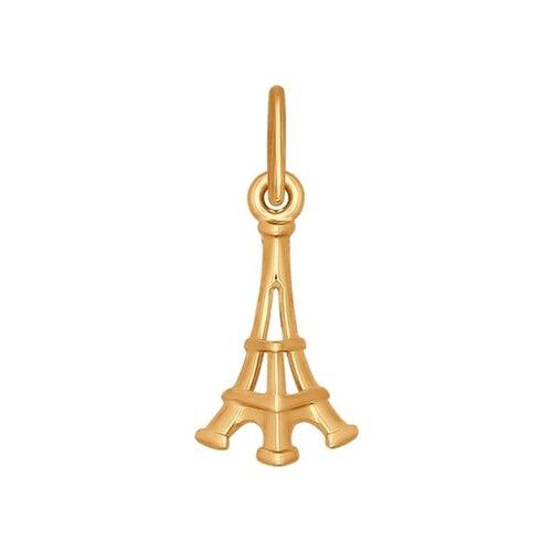 Золотая подвеска «Эйфелева башня»