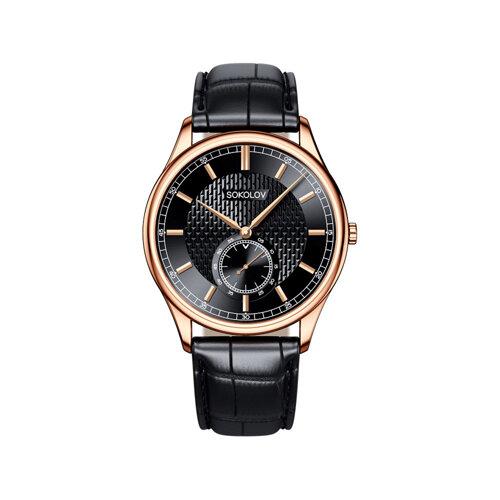Мужские золотые часы (237.01.00.000.05.01.3) - фото №2