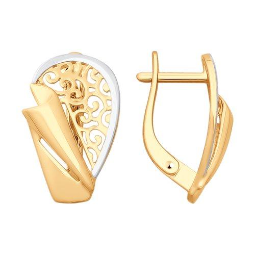 Серьги из золота (027824) - фото