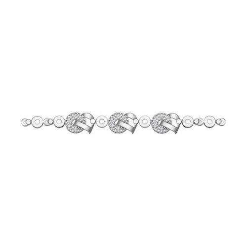 Женский браслет с фианитами SOKOLOV цена