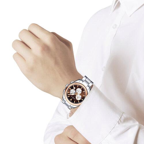 Мужские часы из золота и стали