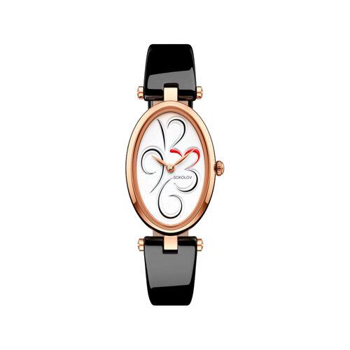 Женские золотые часы (235.01.00.000.03.04.2) - фото №2
