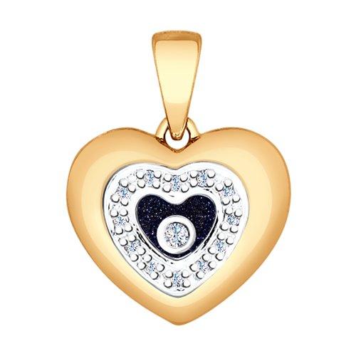 Подвеска «Сердце»  (1030591) - фото