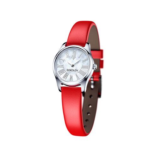 Женские серебряные часы (155.30.00.000.01.03.2) - фото