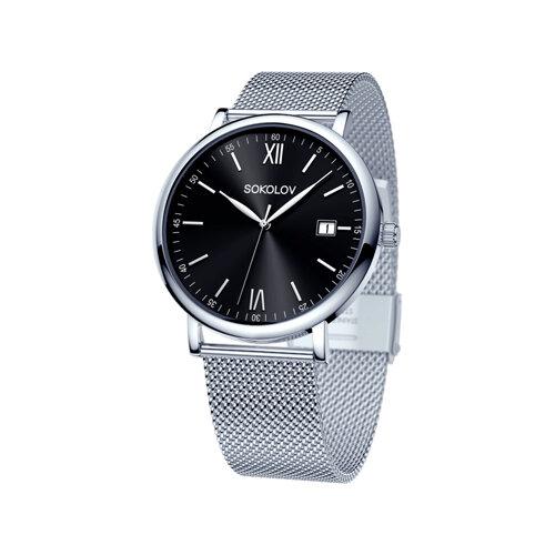 Мужские стальные часы (310.71.00.000.03.01.3) - фото