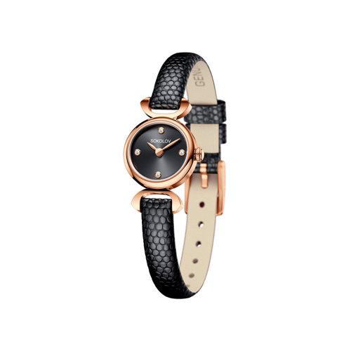 Женские золотые часы (212.01.00.000.03.01.3) - фото
