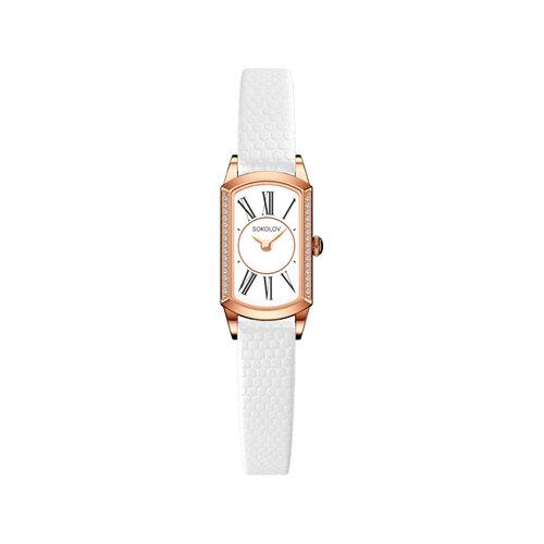 Женские золотые часы (222.01.00.100.01.02.3) - фото №2