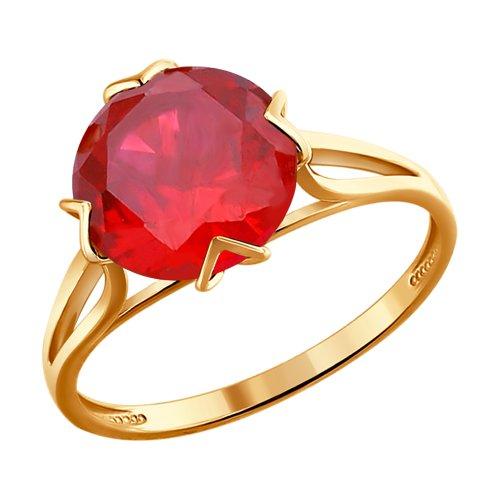 Кольцо из золота (715767) - фото
