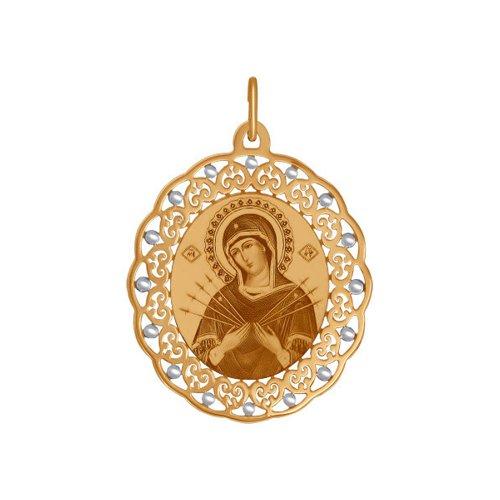 Иконка «Икона Божьей Матери Семистрельная» (103666) - фото