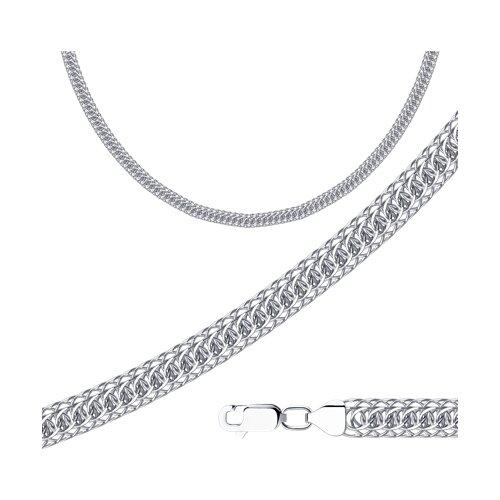 Цепь из серебра с алмазной гранью (968300602) - фото