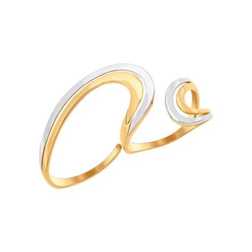 Кольцо на два пальца SOKOLOV из золота