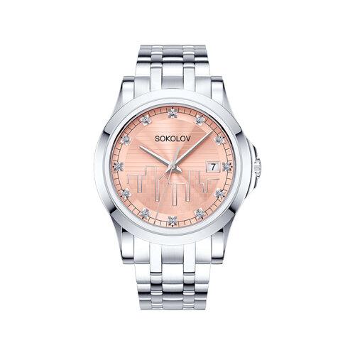 Женские стальные часы (303.71.00.000.04.01.2) - фото №2