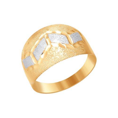 Женское кольцо с алмазной гранью SOKOLOV