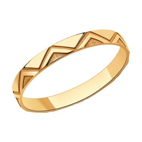 Кольцо из серебра (93010833) - фото