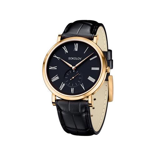 Мужские золотые часы (209.02.00.000.02.01.3) - фото