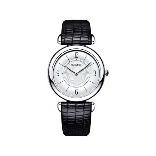 Женские серебряные часы (105.30.00.000.03.01.2) - фото №2