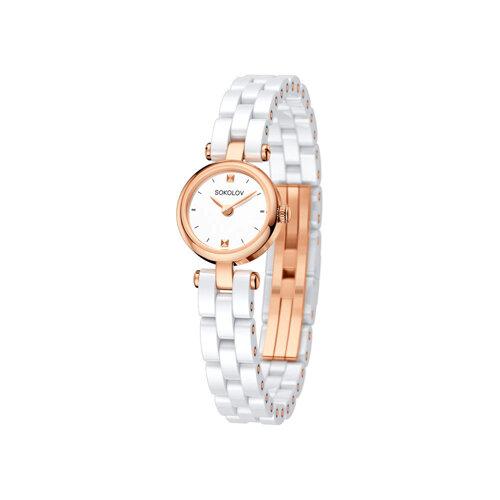 Женские золотые часы (216.01.00.000.01.01.3) - фото