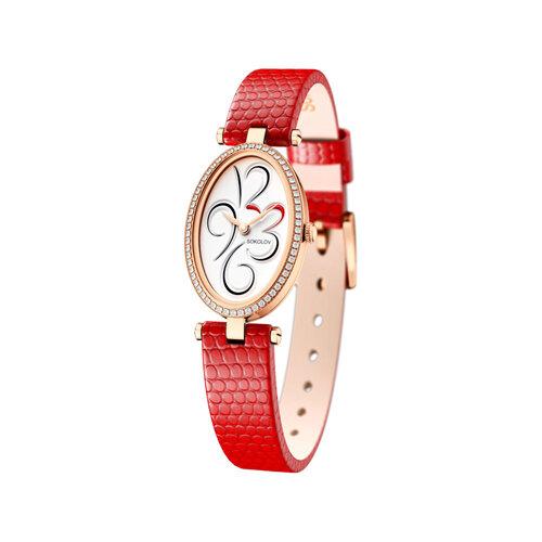 Женские золотые часы (236.01.00.100.03.03.2) - фото