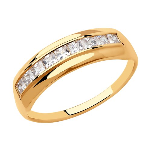 Кольцо из золота 018428 sokolov фото