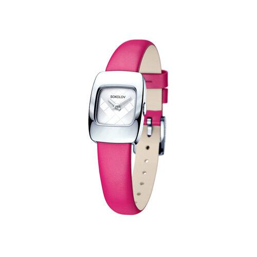 Женские серебряные часы (124.30.00.000.04.05.2) - фото