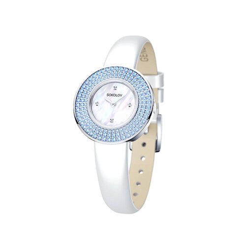 Женские серебряные часы (128.30.00.003.01.02.2) - фото