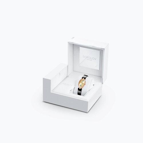 Женские золотые часы (236.01.00.001.06.04.2) - фото №2