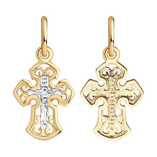 Крест из золота (121378) - фото