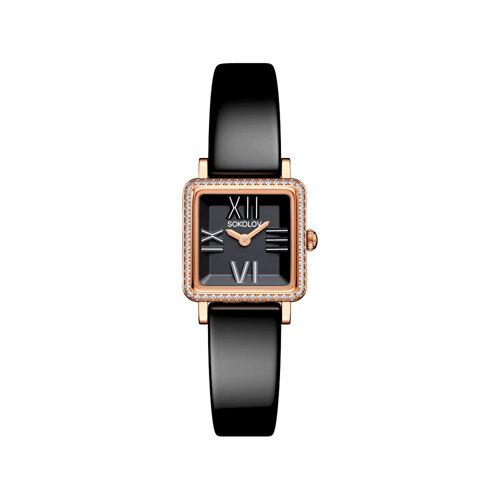 Женские золотые часы (232.01.00.100.02.04.2) - фото №2