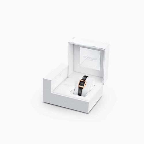 Женские золотые часы (231.01.00.000.02.01.2) - фото №4