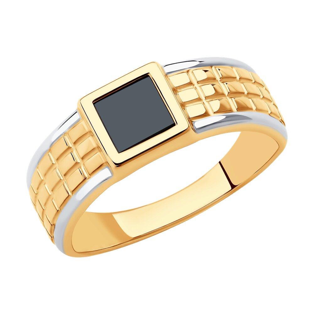 Кольцо SOKOLOV из золота с ониксом
