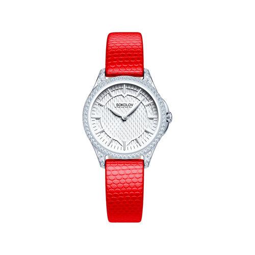 Женские серебряные часы (137.30.00.001.05.03.2) - фото №2