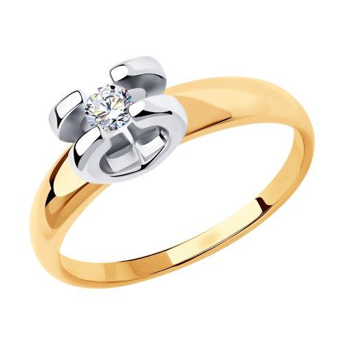 Кольцо из золота 018399 SOKOLOV фото