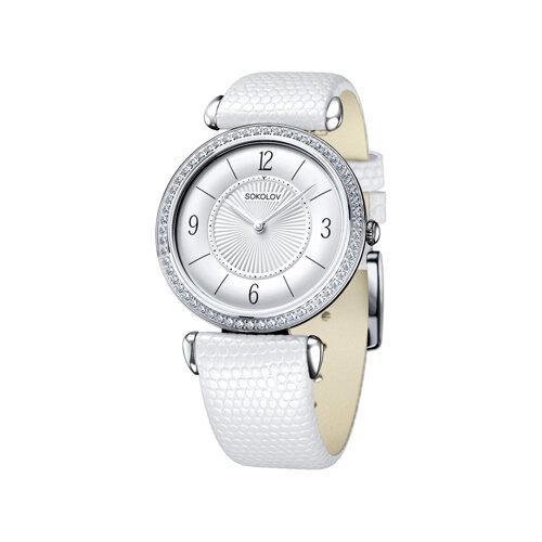 Женские серебряные часы (106.30.00.001.03.02.2) - фото