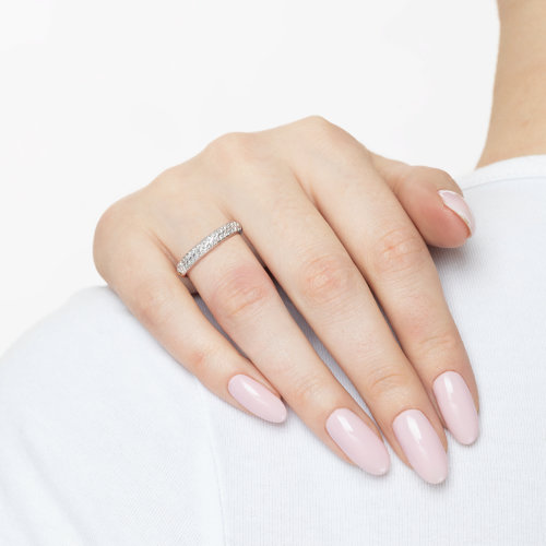 Кольцо из золота с бриллиантами 1011798 SOKOLOV фото 4