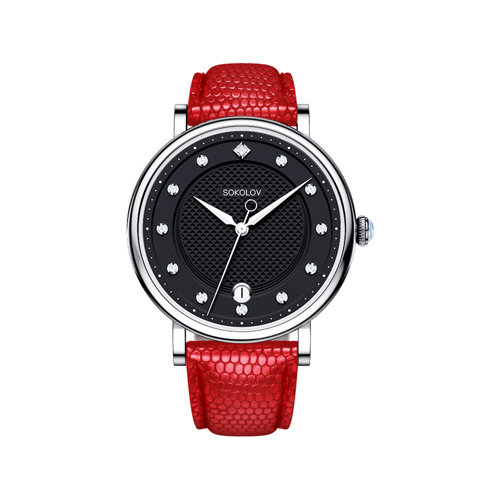 Женские серебряные часы (103.30.00.000.05.03.2) - фото №2