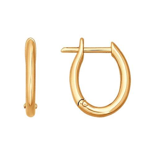 Серьги из золота (026207) - фото