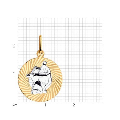 Подвеска «Знак зодиака Стрелец» (031373) - фото №2