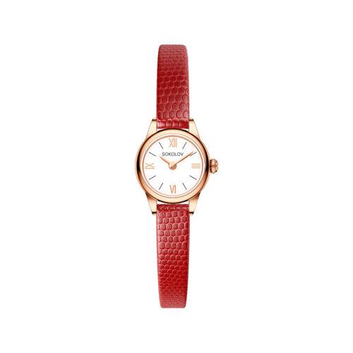 Женские золотые часы (211.01.00.000.01.04.3) - фото №2