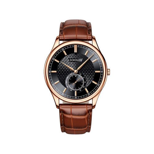 Мужские золотые часы (237.01.00.000.05.03.3) - фото №2