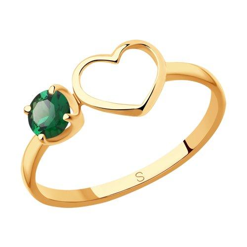 Кольцо из золота (715607) - фото