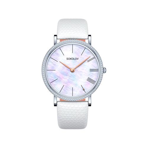 Женские серебряные часы (153.30.00.001.02.02.2) - фото №2
