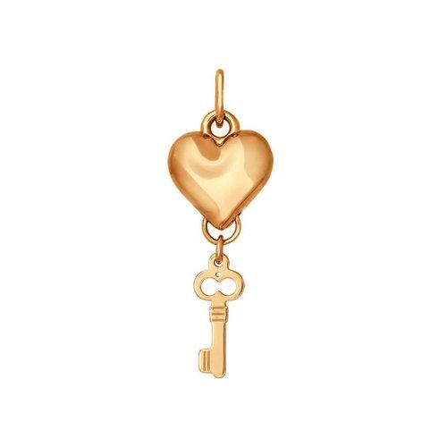 Подвеска SOKOLOV из золота «Ключ от сердца» стоимость