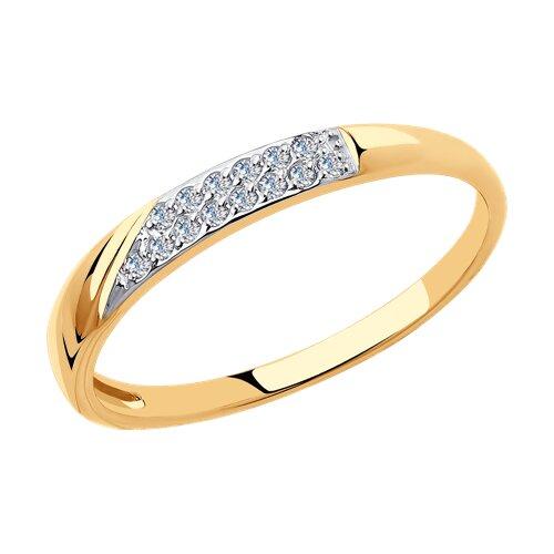 Кольцо из золота 018395 sokolov фото