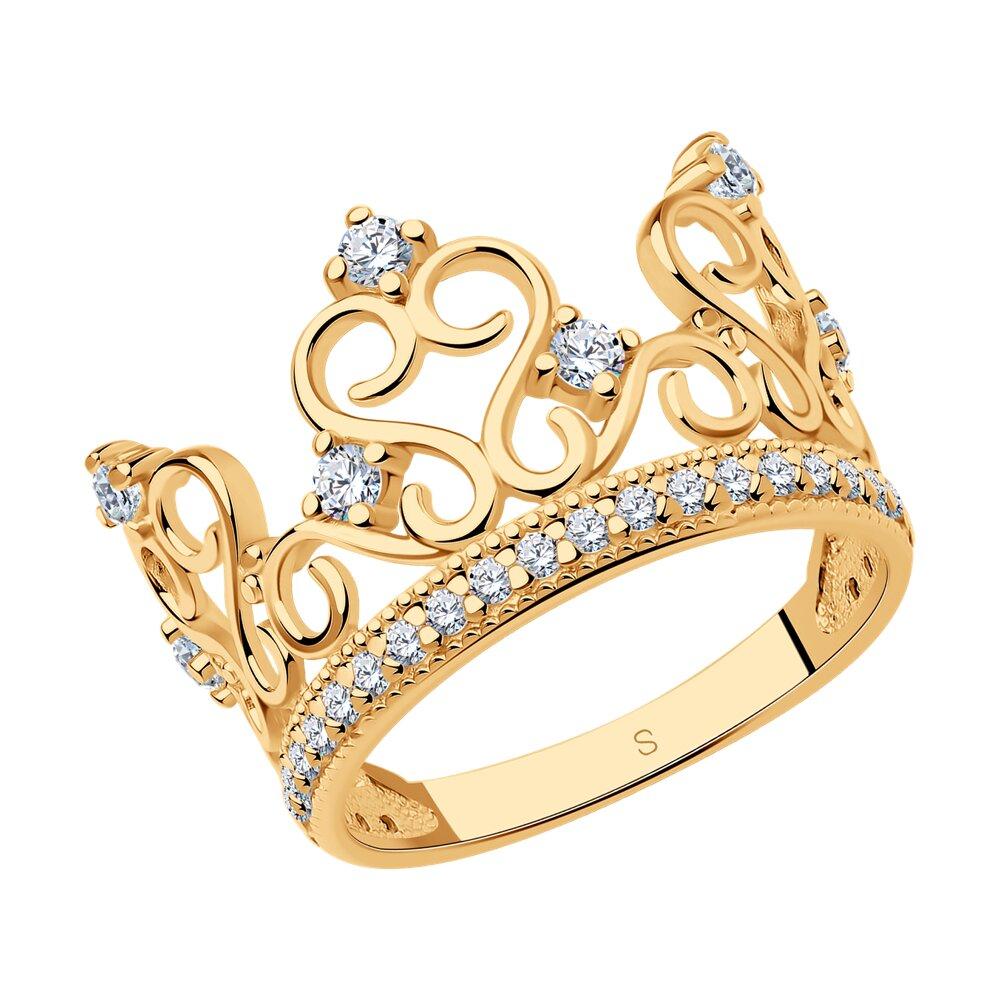 Кольцо в виде короны SOKOLOV недорого