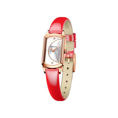 Женские золотые часы (222.01.00.001.04.07.3) - фото