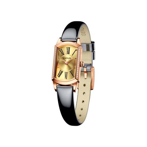 Женские золотые часы (222.01.00.001.02.05.3) - фото