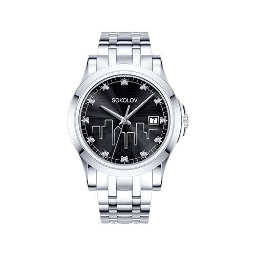 Женские стальные часы (303.71.00.000.02.01.2) - фото №2