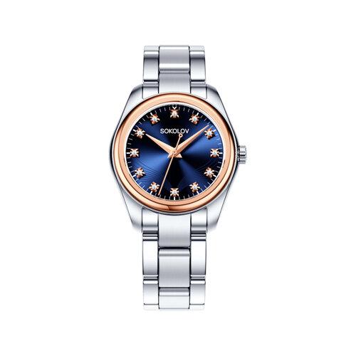 Женские часы из золота и стали (140.01.71.000.05.01.2) - фото №2