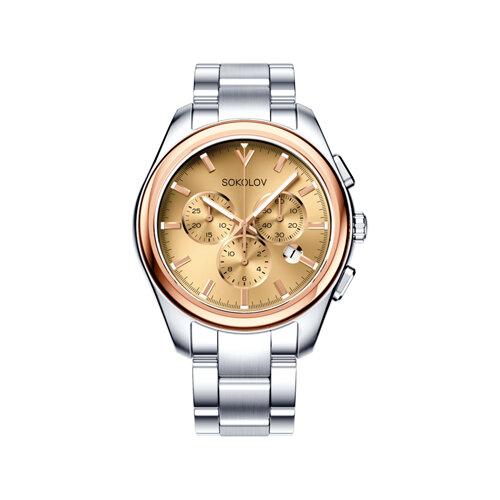 Мужские часы из золота и стали (139.01.71.000.02.01.3) - фото №2