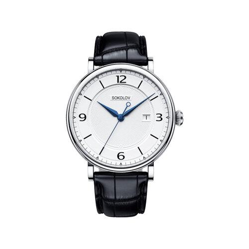 Мужские серебряные часы (101.30.00.000.03.01.3) - фото №2